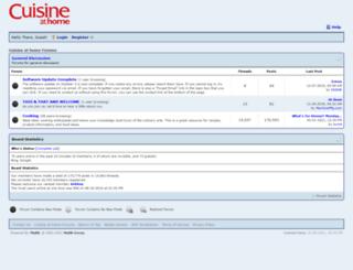 forums.cuisineathome.com screenshot