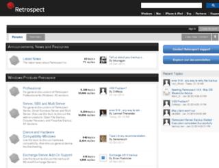 forums.dantz.com screenshot
