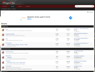 forums.dragcave.net screenshot