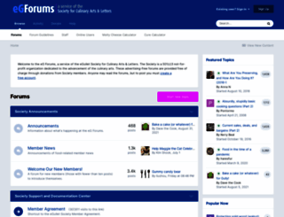 forums.egullet.org screenshot