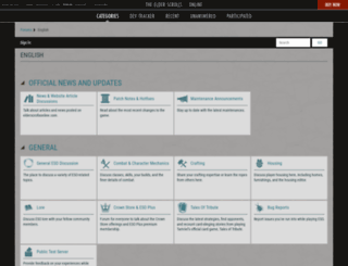 forums.elderscrollsonline.com screenshot