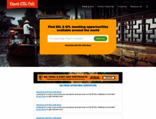 forums.eslcafe.com screenshot
