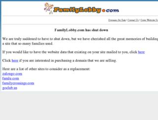 forums.familylobby.com screenshot