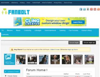 forums.fanbolt.com screenshot