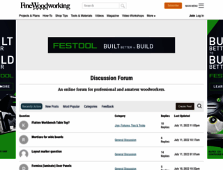 forums.finewoodworking.com screenshot