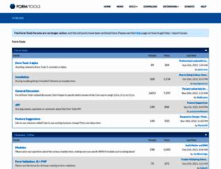 forums.formtools.org screenshot