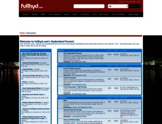 forums.fullhyderabad.com screenshot
