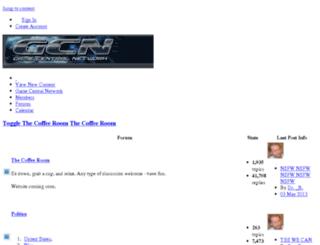 forums.gamecentralnetwork.net screenshot