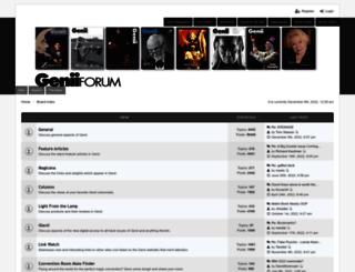 forums.geniimagazine.com screenshot