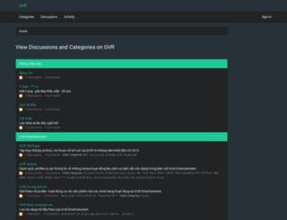 forums.gvr.vn screenshot