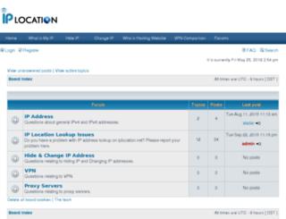 forums.iplocation.net screenshot