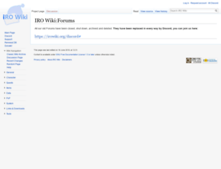 forums.irowiki.org screenshot
