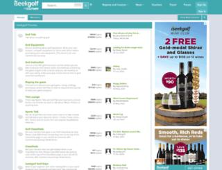 forums.iseekgolf.com screenshot