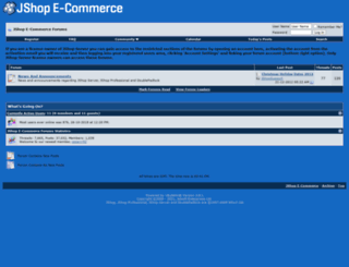 forums.jshopecommerce.com screenshot
