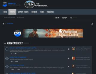 forums.justadventure.com screenshot