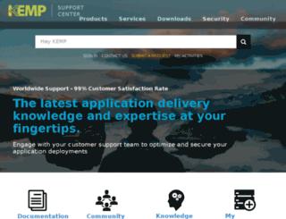 forums.kemptechnologies.com screenshot
