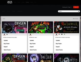 forums.kleientertainment.com screenshot