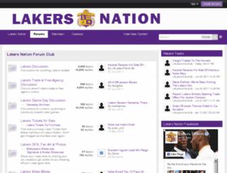 forums.lakersnation.com screenshot