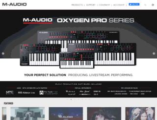 forums.m-audio.com screenshot