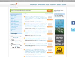 forums.makaan.com screenshot