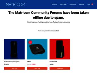 forums.matricom.net screenshot