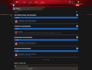 forums.mayngames.com screenshot