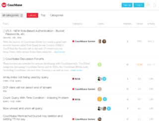 forums.membase.org screenshot