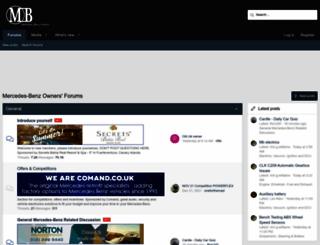 forums.mercedesclub.org.uk screenshot