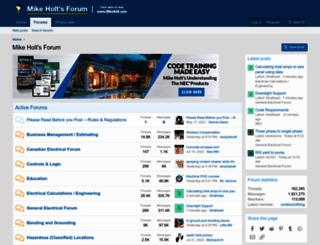 forums.mikeholt.com screenshot
