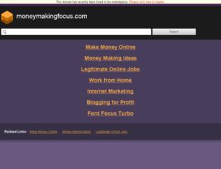 forums.moneymakingfocus.com screenshot