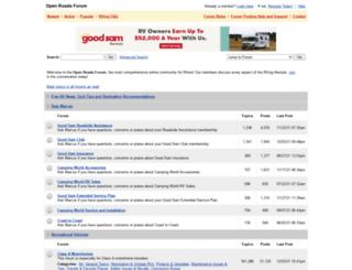 forums.motorhome.com screenshot