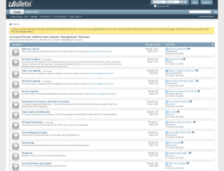 forums.mysuperpc.com screenshot
