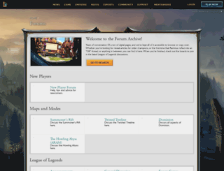 forums.na.leagueoflegends.com screenshot