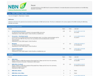 forums.nbn.org.uk screenshot