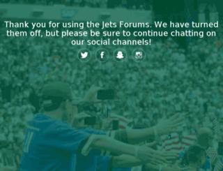 forums.newyorkjets.com screenshot