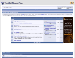 forums.oldtimersclan.org screenshot