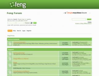 forums.opengoo.org screenshot