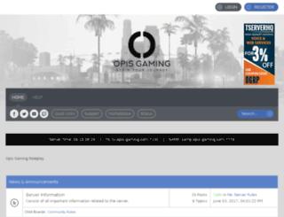 forums.opis-gaming.com screenshot