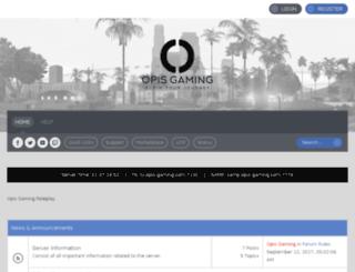 forums.opis-rp.com screenshot