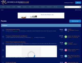 forums.overclockersclub.com screenshot
