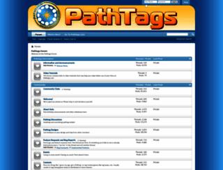 forums.pathtags.com screenshot