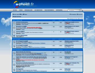 forums.phpbb-fr.com screenshot