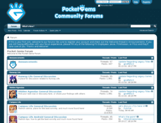 forums.pocketgems.com screenshot