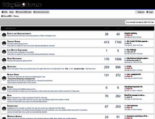 forums.pokemondeluge.com screenshot