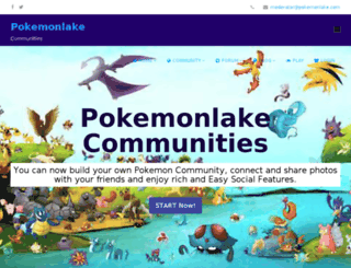 forums.pokemonlake.com screenshot