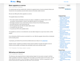forums.rimuhosting.com screenshot