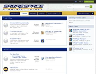 forums.sabrespace.com screenshot