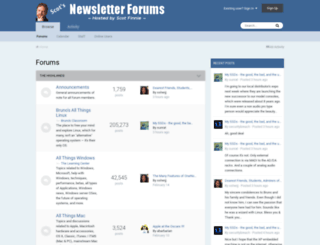 forums.scotsnewsletter.com screenshot