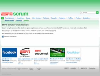 forums.scrum.com screenshot