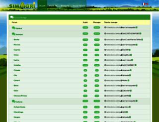 forums.simagri.com screenshot